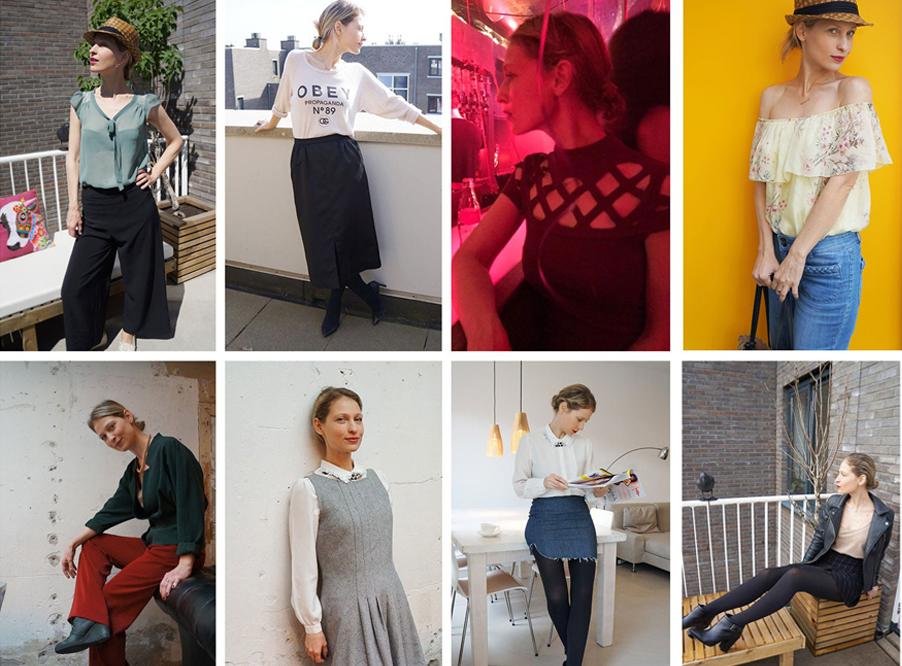 Для блогера Виктории Онкен ходить в библиотеку за нарядами — это способ красиво одеваться и экономить